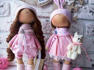Куколки по акции   Ярмарка Мастеров - ручная работа, handmade