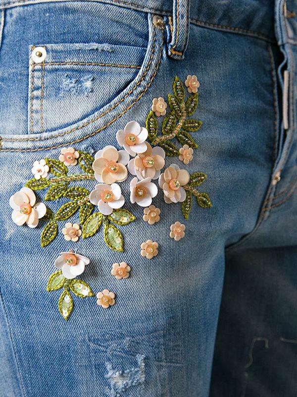 Многообразный декор джинсовых курток: 50 интересных вариантов, фото № 39