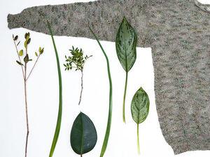 Лето приди!!! SALE 50% Джемпер Ботаника   Ярмарка Мастеров - ручная работа, handmade