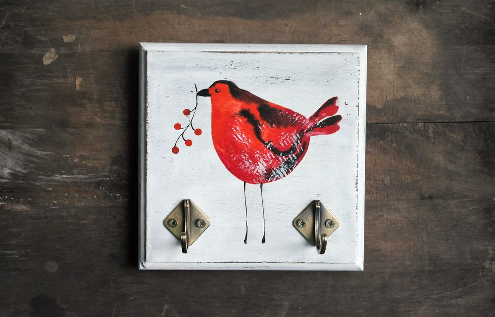 конфетка, птицы, роспись