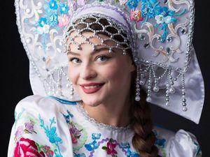Удивительные наряды в русском стиле на конкурсах красоты. Ярмарка Мастеров - ручная работа, handmade.