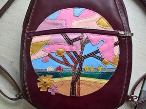 Не пропустите — готовый женский рюкзак за 5500р! Скидка только до 12 ноября. Ярмарка Мастеров - ручная работа, handmade.
