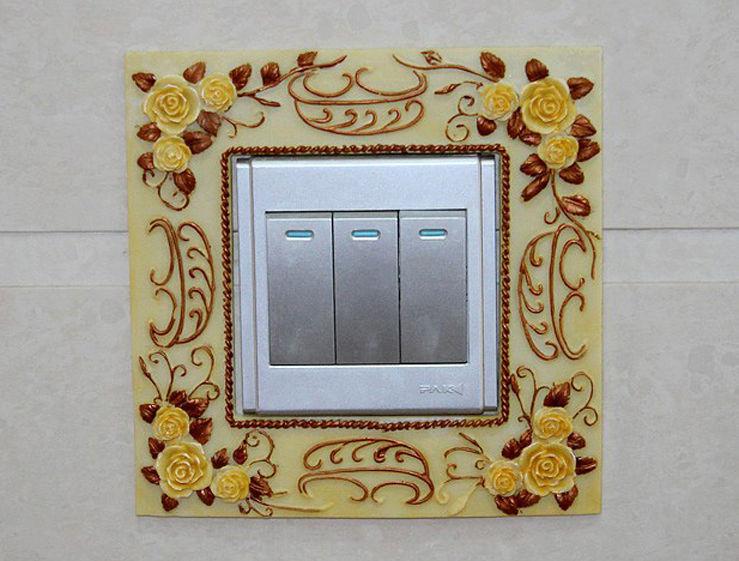 Декоративная рамка для выключателя