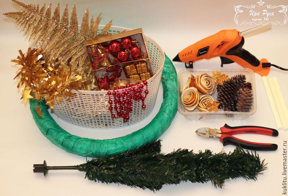 Создаем рождественский венок, фото № 1