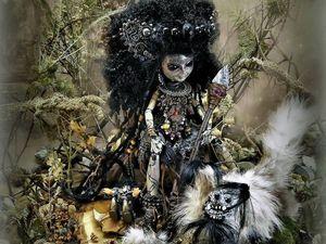 Новая работа: Авторская кукла Амазонка. Ярмарка Мастеров - ручная работа, handmade.