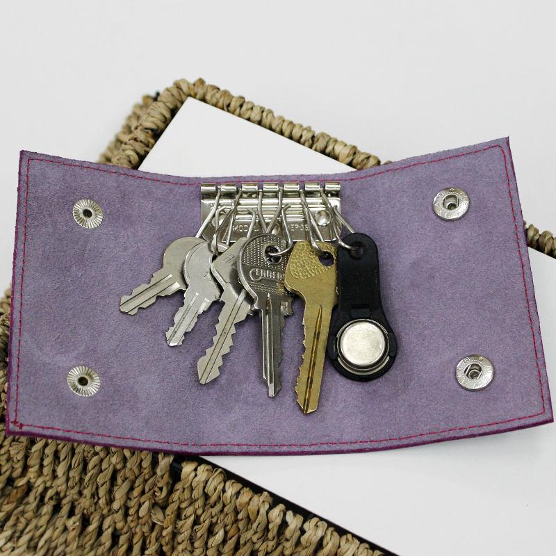 Tutorial on Making a Leather Key Bag, фото № 28