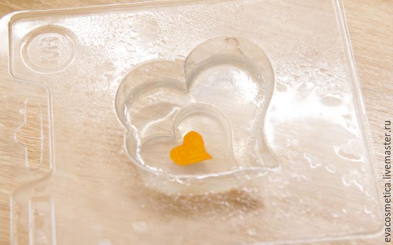 мыло из основы, подарок на день валентина