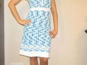 Lookовки. Платье Dominique. Как это выглядит. Ярмарка Мастеров - ручная работа, handmade.