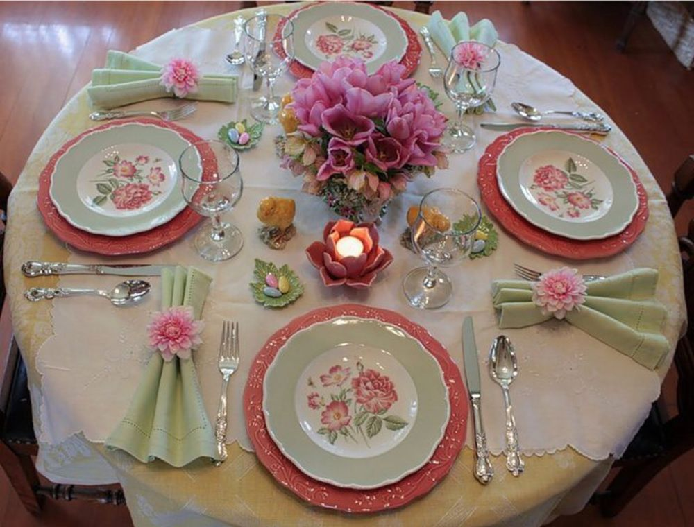 Красиво сервировать стол в домашних условиях 691