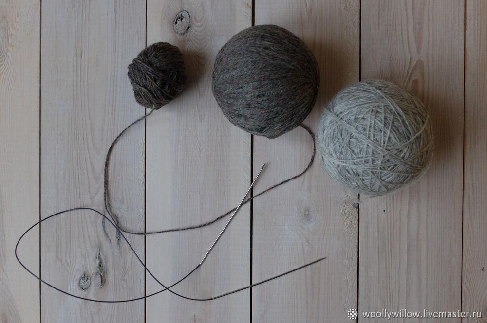 вяжем свитер