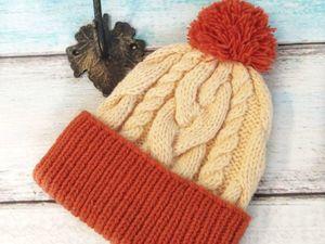 Зимняя шапка со скидкой!. Ярмарка Мастеров - ручная работа, handmade.