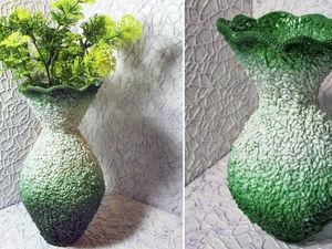 Делаем вазу из пластиковой бутылки и риса: видео мастер-класс. Ярмарка Мастеров - ручная работа, handmade.
