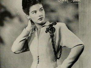 Роскошная марка Lili Ann — эталон неповторимой женственности. Мода 1940-х. Ярмарка Мастеров - ручная работа, handmade.