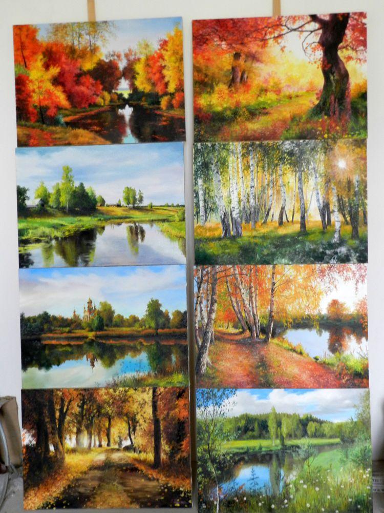 анонс, новые картины, картины маслом, пейзаж, пейзаж маслом, новости магазина