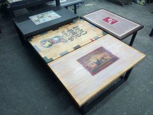 Столы с рисунком. Ярмарка Мастеров - ручная работа, handmade.