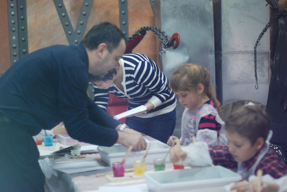 мастер-класс, интерьер, арт-маркет, урок рисования, вода