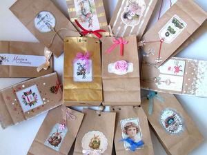 Оформляем упаковку под подарок для покупателя. Ярмарка Мастеров - ручная работа, handmade.