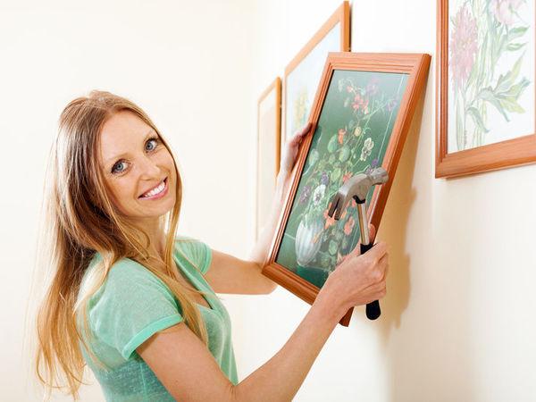 Для расширения семьи и при желании завести ребенка, пара может повесить картину с изображением детей.