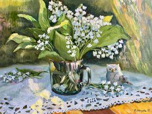Весна — Скидок! Картины цветов и пейзажи маслом.. Ярмарка Мастеров - ручная работа, handmade.