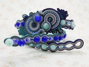 Застежки сутажных украшений. Ярмарка Мастеров - ручная работа, handmade.