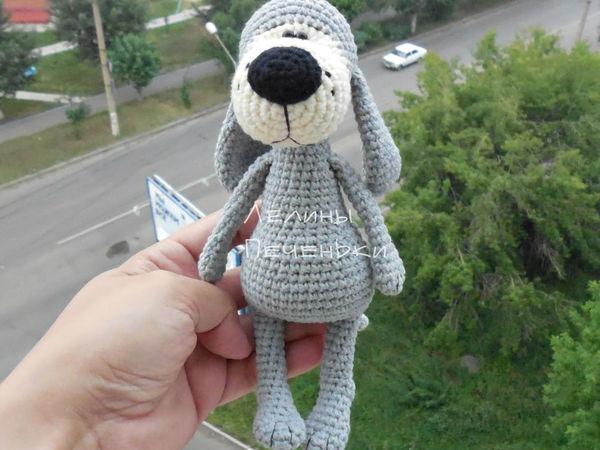 Мастер-класс по вязанию крючком «Собачка Баффи» | Ярмарка Мастеров - ручная работа, handmade