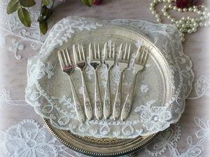 Дополнительные фотографии вилочек для десерта. Ярмарка Мастеров - ручная работа, handmade.