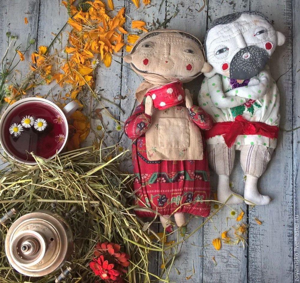 куклоужасокрасота, кукла из ткани