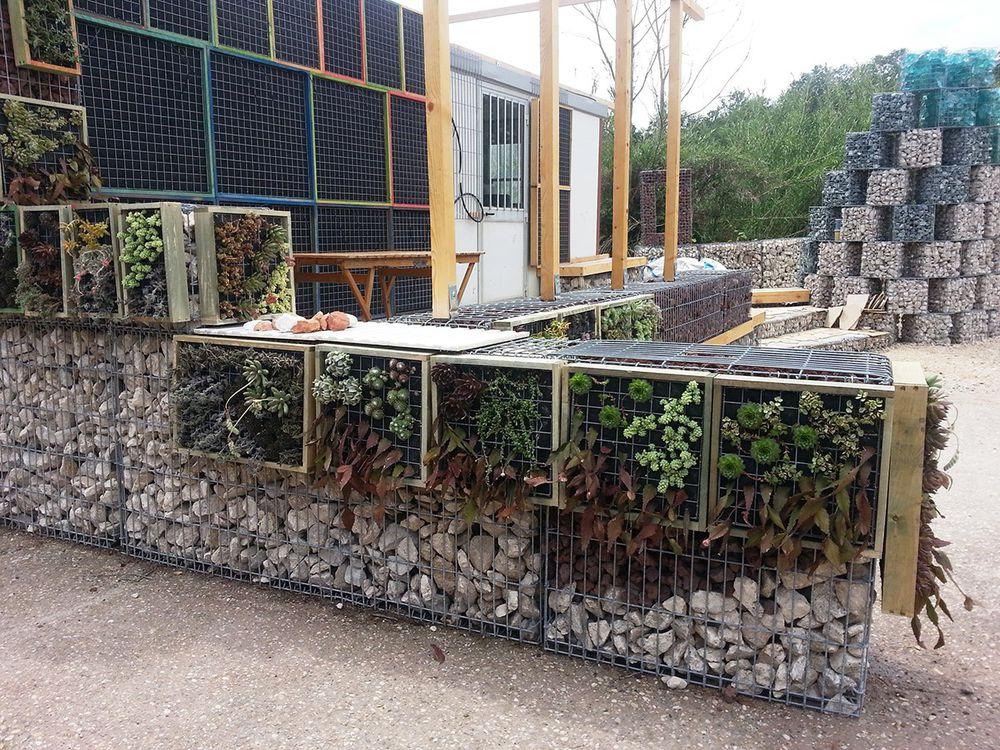 конструкции из габионов фото очередной аво-выставке
