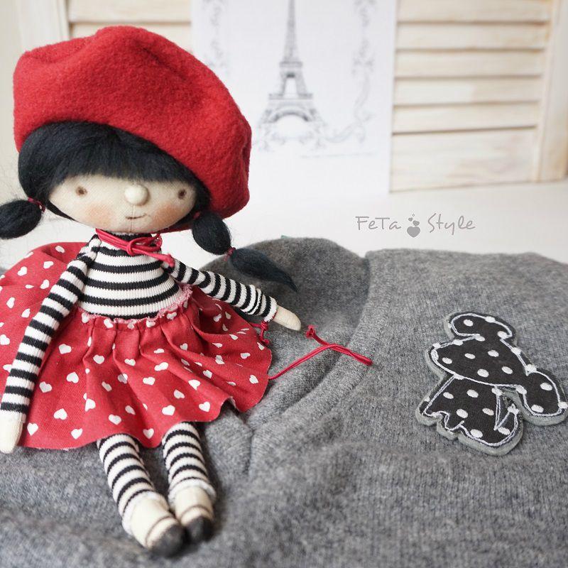 кукла парижанка, символ парижа