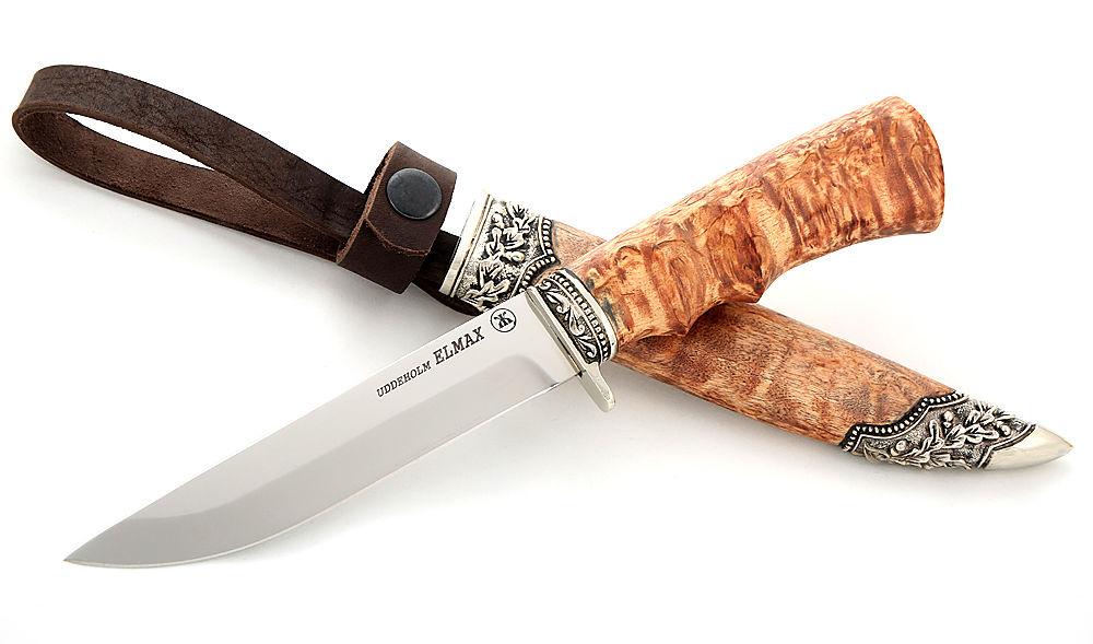 нож, металл, шведская сталь, охота, подарок мужчине, подарок мужу, подарок рыбаку, поход, кованый нож, кованый нож ручной работы