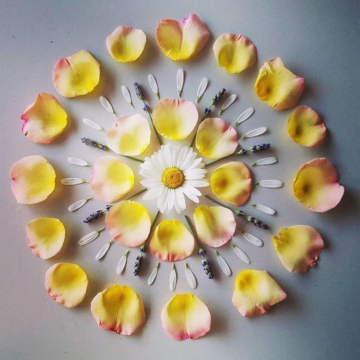 Как цветочные мандалы жительницы Копенгагена украсили целый город