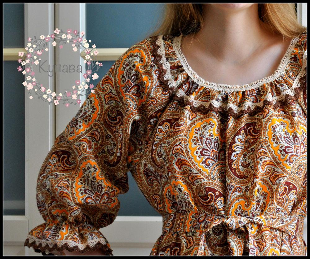 платье из хлопка, натуральные ткани, шнуровка
