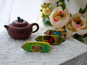 Шьем футляр для флешки «Приятного чаепития!». Ярмарка Мастеров - ручная работа, handmade.