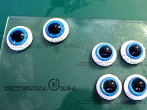 Создаем глаза из полимерной глины. Ярмарка Мастеров - ручная работа, handmade.