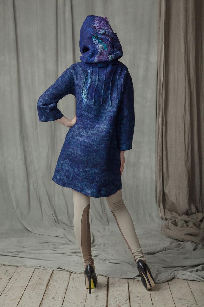 мк по валянию, платье из войлока, обучение, свитшот из войлока