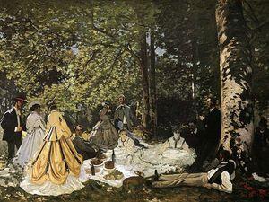 Французские «Завтраки на траве» или как возник импрессионизм. Ярмарка Мастеров - ручная работа, handmade.