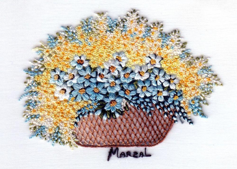 来自西班牙迷人的花卉刺绣 - maomao - 我随心动