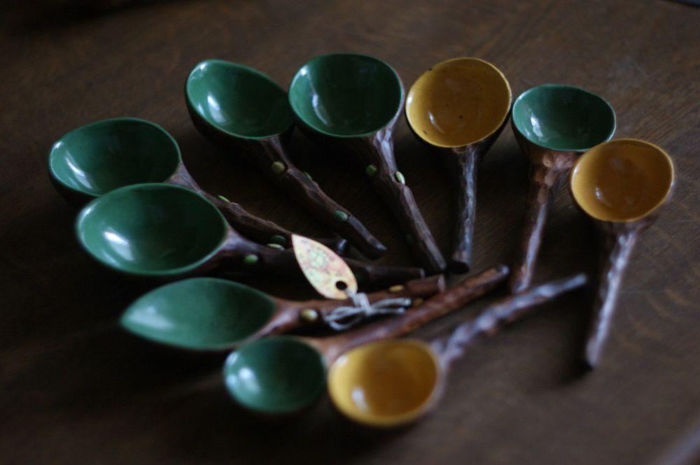 керамические ложки