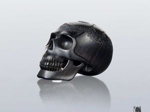 Carving a Wooden Skull Pendant or Bead. Livemaster - handmade