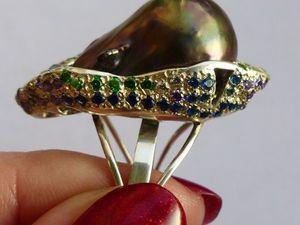 Новое кольцо Черная Магия. Ярмарка Мастеров - ручная работа, handmade.
