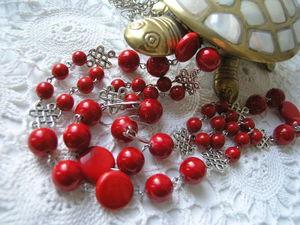 Красный-прекрасный. Рождество и Новый год. | Ярмарка Мастеров - ручная работа, handmade