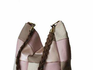 Сумка-мешок, большая сумка, Атлантика)) | Ярмарка Мастеров - ручная работа, handmade