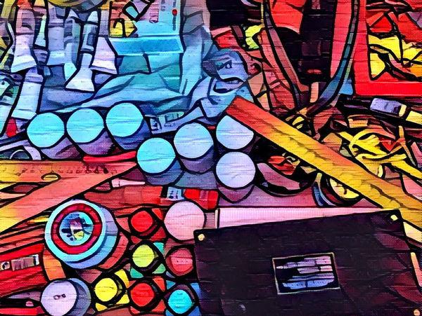 Красочный инструментарий или мои верные спутники   Ярмарка Мастеров - ручная работа, handmade