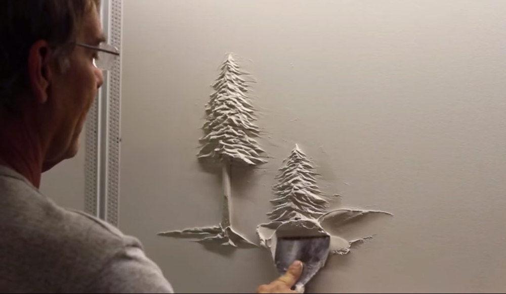 Bernie Mitchell: превращение скучных стен в произведение искусства, фото № 1