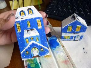 Рабочий процесс... новые домики))). Ярмарка Мастеров - ручная работа, handmade.