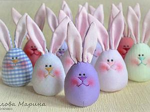 Funny Easter Bunny Eggs. Livemaster - handmade