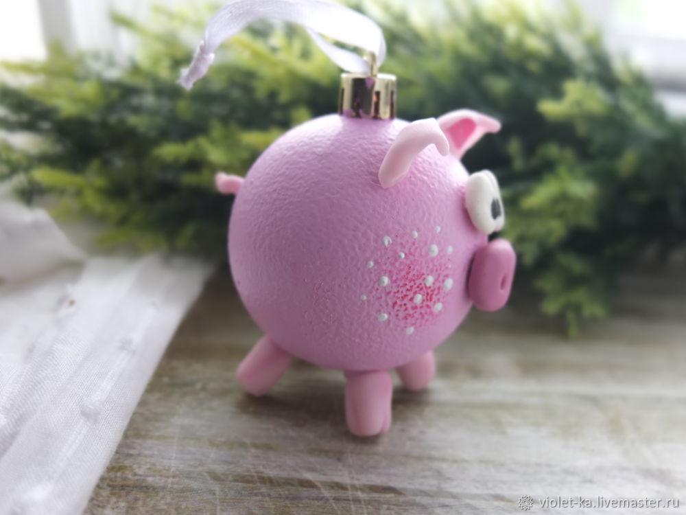 символ года, свинка, новогодний подарок, новый год 2019