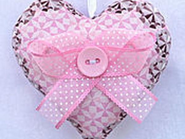 Акция на текстильные сердечки! | Ярмарка Мастеров - ручная работа, handmade