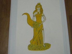 Картина Богиня Фортуна.. Ярмарка Мастеров - ручная работа, handmade.