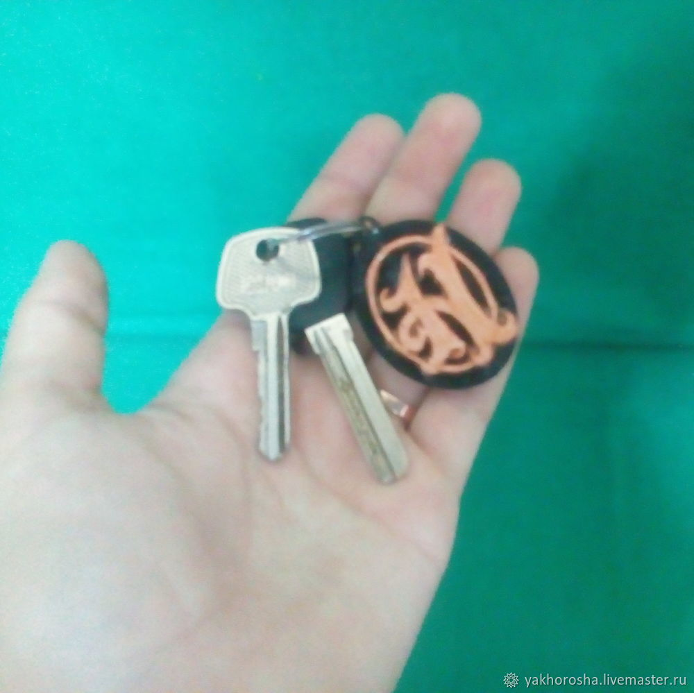 Как сделать брелок для ключей из бумаги